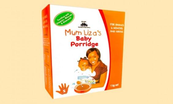 Mum Liza Baby Porridge